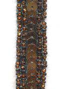 15mm Bronze/Copper Seed Bead/Sequin