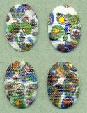 25x18mm Multi-Color Mosaic/Petti-Point