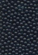 2.5mm Black Glass No Hole Beads