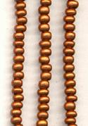 4mm Antique Copper Seed Beads