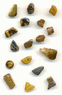 Tiger's Eye Stone Nugget Beads