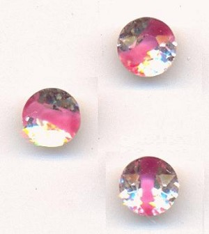 35ss Pink Givre Glass Rhinestones