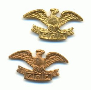 11x22mm Brass Cast Eagles