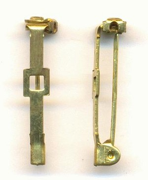 1'' Brass Bar Pin