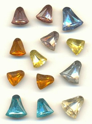 Mixed Bell Shaped Stones