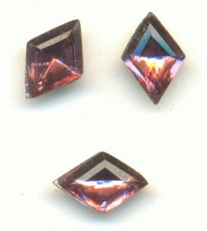 7x5mm Amethyst Diamond RS