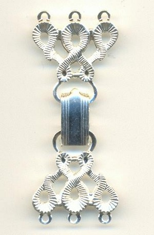 2'' by 3/4'' SP 3 Strand Clasp