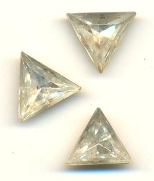 10mm Clear Triangle RS