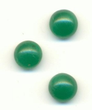 5mm Jade Green Stone