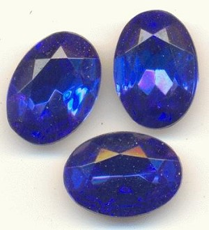 14x10mm Sapphire Oval RS