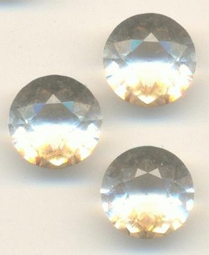8mm Transparent Crystal Rhinetones