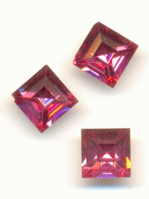5mm Swarovski Rose Square RS