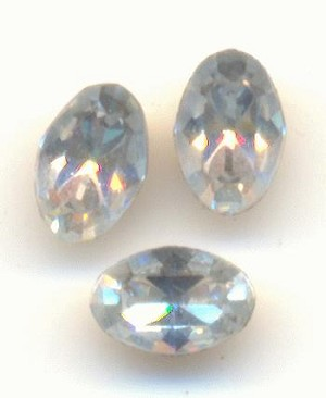 4.5x3mm Swarovski Shadow Oval RS