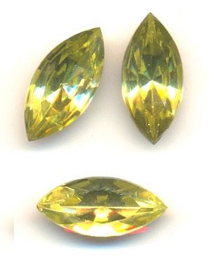 15x7mm Jonquil Navette RS