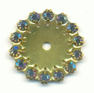 22mm Amy AB Rhinestone Embellishment