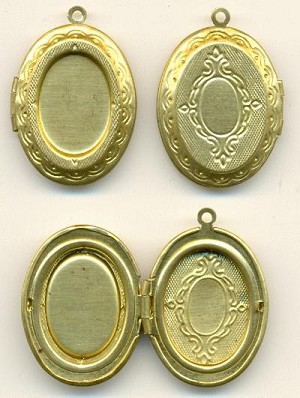 29x23mm Locket For 18x13mm Stone