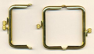 3'' by 1 1/2'' GP Purse Hinges