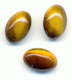 6x4mm Tiger's Eye Stones