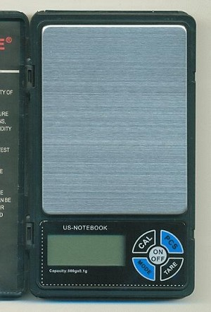 4 1/4'' by 2 1/2'' Notebook Pocket Scale