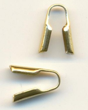 3mm Brass Chain Ends