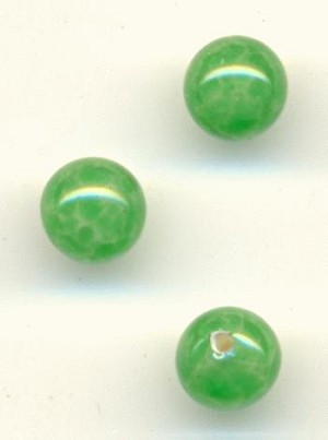 4.15mm Jade 1/2 Drilled Beads