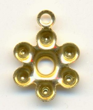 10mm GP Flower Setting 1R For 3mm Stone