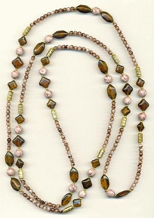 60'' Natural Tone Necklace