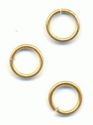 8.6mm Brass Jumprings