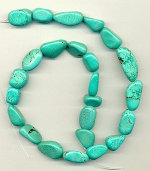 10-30mm Blue Magnesite Nuggets