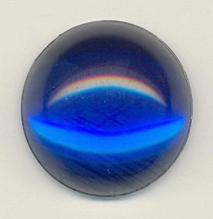 18mm Acrylic Sapphire Cabochons