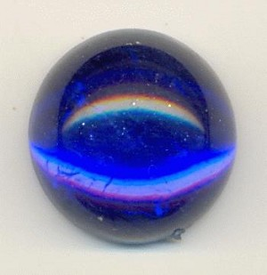 15mm Acrylic Sapphire Cabochons