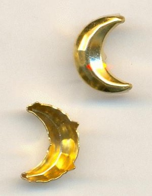 12x8mm GP Crescent Nailheads