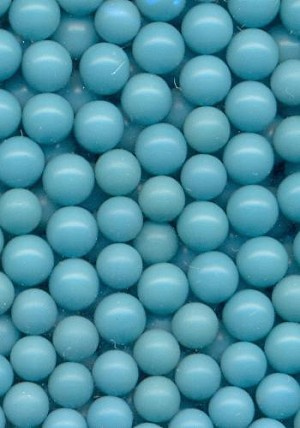 3.9-4.3mm Turquoise No Hole Beads