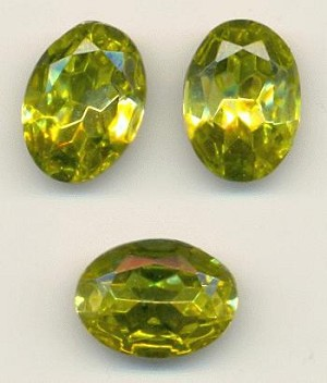 18x13mm Citrine Oval RS