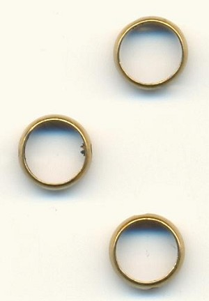 8x2.5mm Antique Brass Rings
