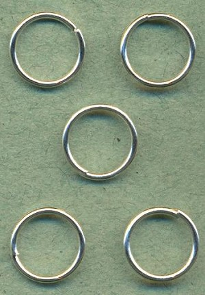 10mm Silver Jump Rings