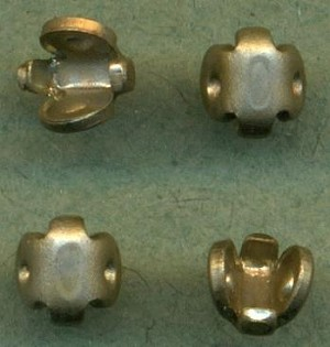 4mm Silver Swivel/T-Pin Joints