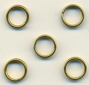 7mm Brass Split Rings