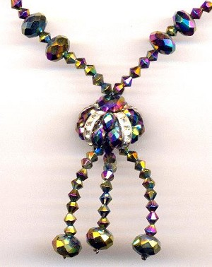 20'' Vitrail (Bronze/Purple) Necklace