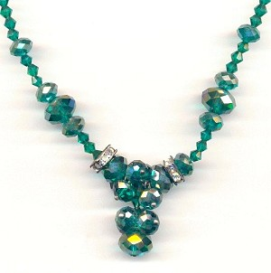 20'' Emerald AB Necklace