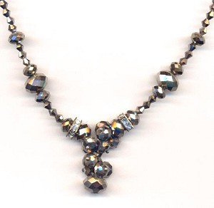 20'' Comet Argent Necklace