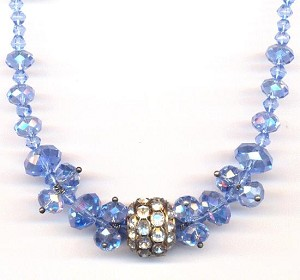 18'' Light Sapphire AB Necklace