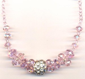 18'' Pink AB Necklace