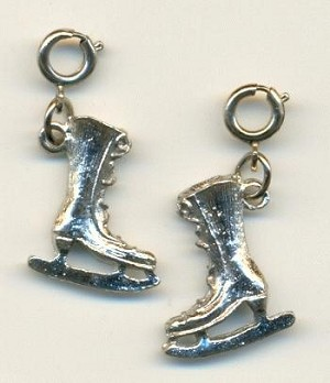 20x16mm SP Cast Ice Skate Charms