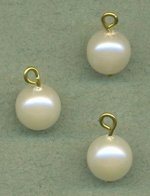 8mm Vintage Japanese Pearl Drops