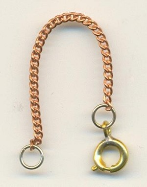 2 3/4'' Safety Chain & Clasp