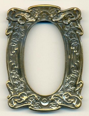 3 1/2'' x 2 1/2'' Floral Picture Frame