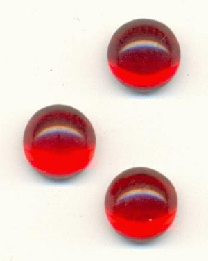 7mm Siam Ruby Cabs