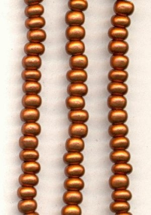 06/0 Antique Copper Seed Beads