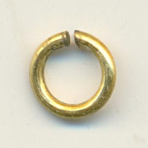 7mm Brass Jump Rings